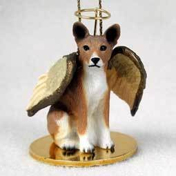 Angel Ornament Basenji