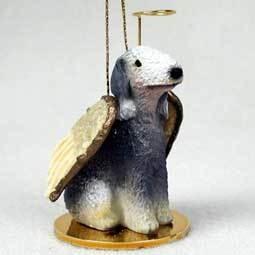 Angel Ornament Bedlington Terrier