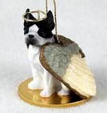 Angel Ornament Boston Terrier