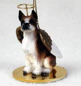 Angel Ornament Boxer-Brindle