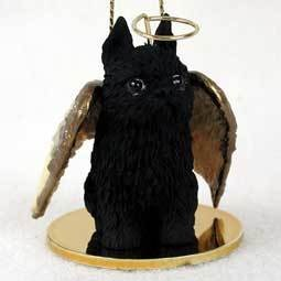 Angel Ornament Brussels Griffon