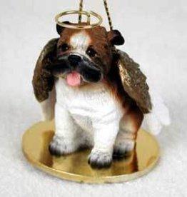 Angel Ornament Bulldog