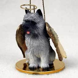 Angel Ornament Cairn Terrier