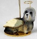 Angel Ornament Dandie Dinmont Terrier