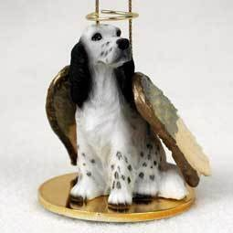 Angel Ornament English Cocker Spaniel