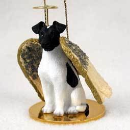 Angel Ornament Fox Terrier