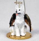 Angel Ornament German Shepherd-White