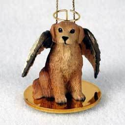 Angel Ornament Golden Retreiver