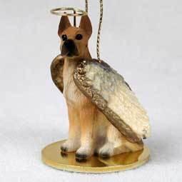 Angel Ornament Great Dane-Fawn