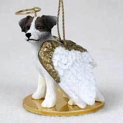 Angel Ornament Jack Russell Terrier-Brown