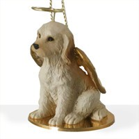 Angel Ornament Labradoodle-Cream