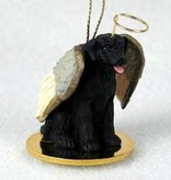 Angel Ornament Labrador Retriever -Black