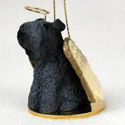 Angel Ornament Kerry Blue Terrier