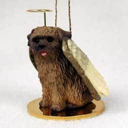 Angel Ornament Norfolk Terrier