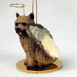 Angel Ornament Norwich Terrier