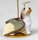 Angel Ornament Petit Basset Griffon Vende