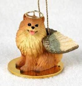 Angel Ornament Pomeranian