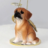 Angel Ornament Puggle
