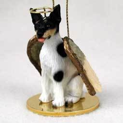 Angel Ornament Rat Terrier