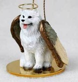 Angel Ornament Samoyed