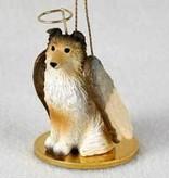 Angel Ornament Shetland Sheepdog Sable