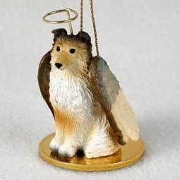 Angel Ornament Shetland Sheepdog Sable