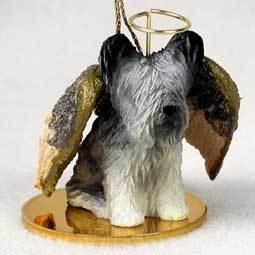 Angel Ornament Skye Terrier