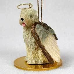 Angel Ornament Soft Coat Wheaton Terrier