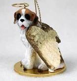 Angel Ornament St. Bernard