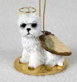 Angel Ornament West Highland White Terrie