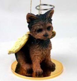 Angel Ornament Yorkshire Terrier-Puppy Cu