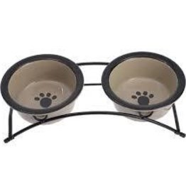 3 pc Petrageous Dog Dish Set..