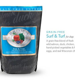 Fromms 12lb Dog Food - Surf & Turf