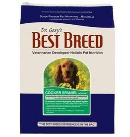 Dr. Gary's Best Breed Cocker Spaniel Dog Diet-15 lbs