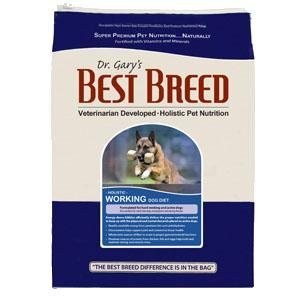 Dr. Gary's Best Breed Working Dog Diet -30 lbs