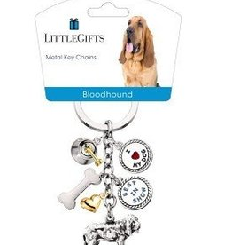 Little Gifts Key Chain Bloodhound