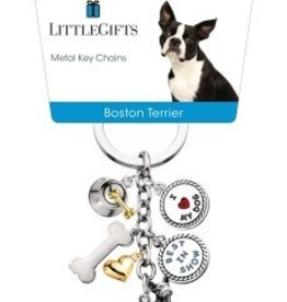 Little Gifts Key Chain Boston Terrier