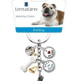 Little Gifts Key Chain Bulldog