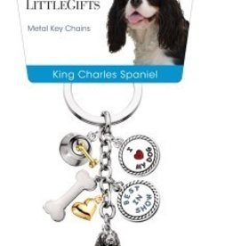 Little Gifts Key Chain Cavalier King Charles Span