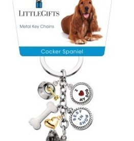 Little Gifts Key Chain Cocker Spaniel