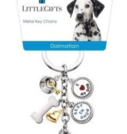 Little Gifts Key Chain Dalmatian