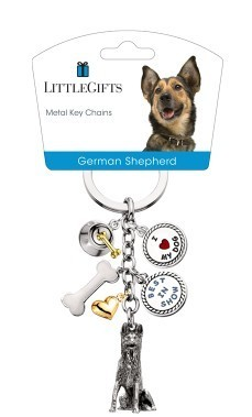 Little Gifts Key Chain German Shepherd