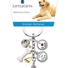 Little Gifts Key Chain Golden Retreiver