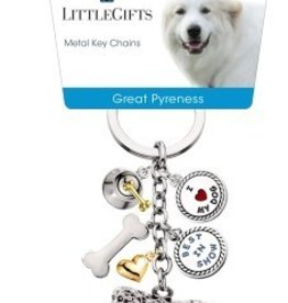 Little Gifts Key Chain Great Pyrenees
