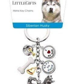 Little Gifts Key Chain Siberian Husky