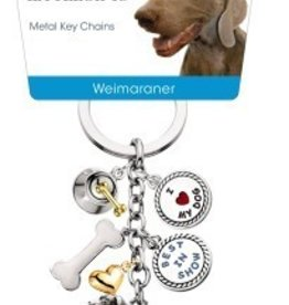 Little Gifts Key Chain Weimaraner