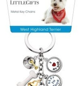Little Gifts Key Chain West Highland White Terrie