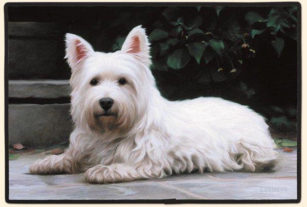 Door Mat West Highland White Terrier