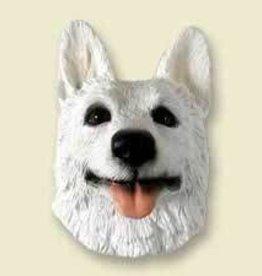 Doogie Head German Shepherd White