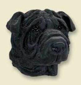 Doogie Head Shar-Pei Black